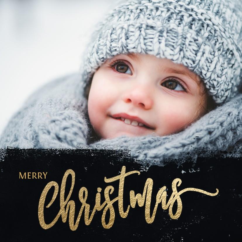 Kerstkaarten - Kerstkaart handgeschreven tekst