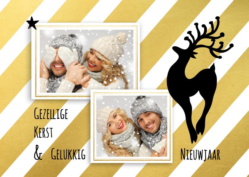 Kerstkaarten - Kerstkaart hert eigen foto - SG
