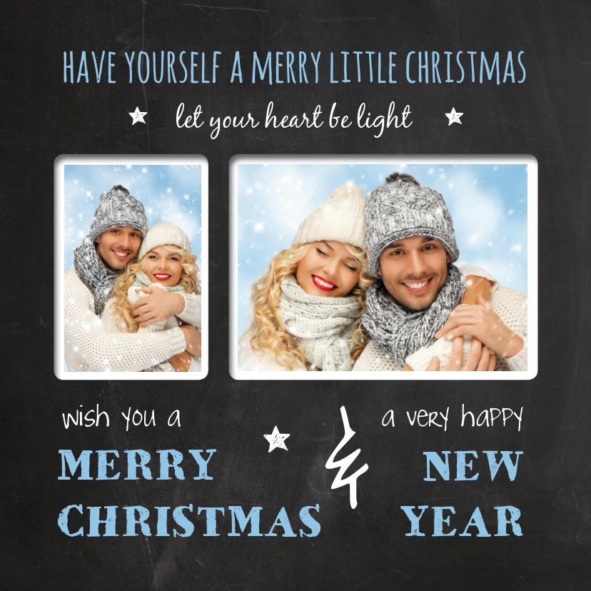 Kerstkaarten - Kerstkaart Little Christmas eigen foto