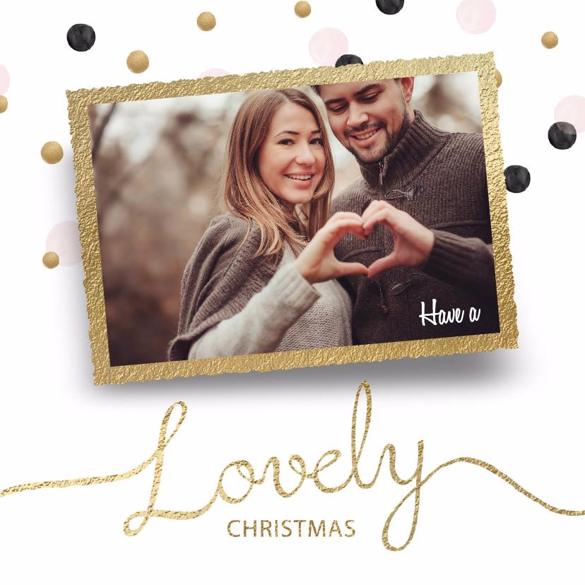 Kerstkaarten - Kerstkaart Lovely Xmas
