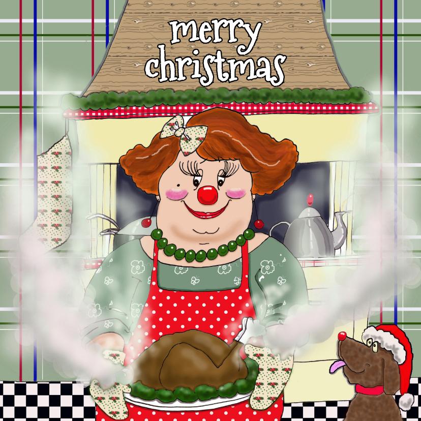 Kerstkaarten - Kerstkaart met de CliniClowns
