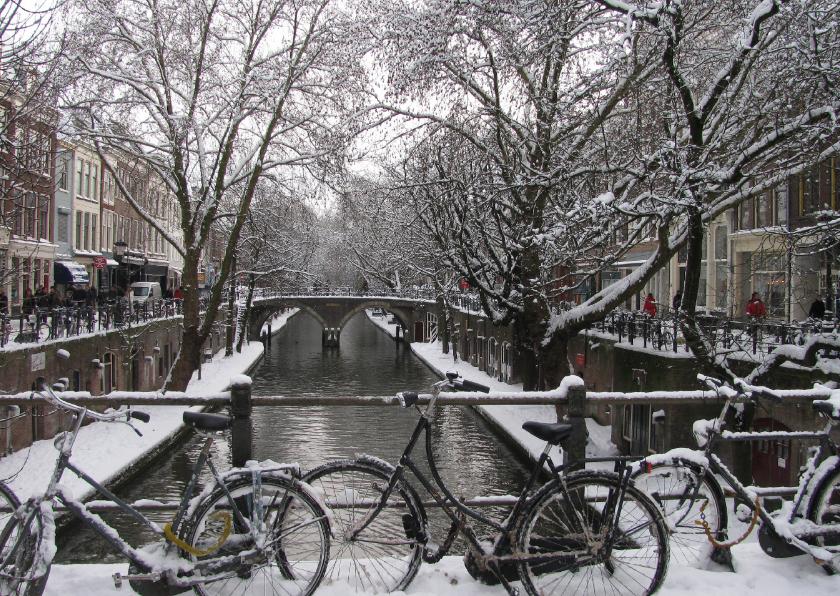 Kerstkaarten - Kerstkaart Oude Gracht Utrecht