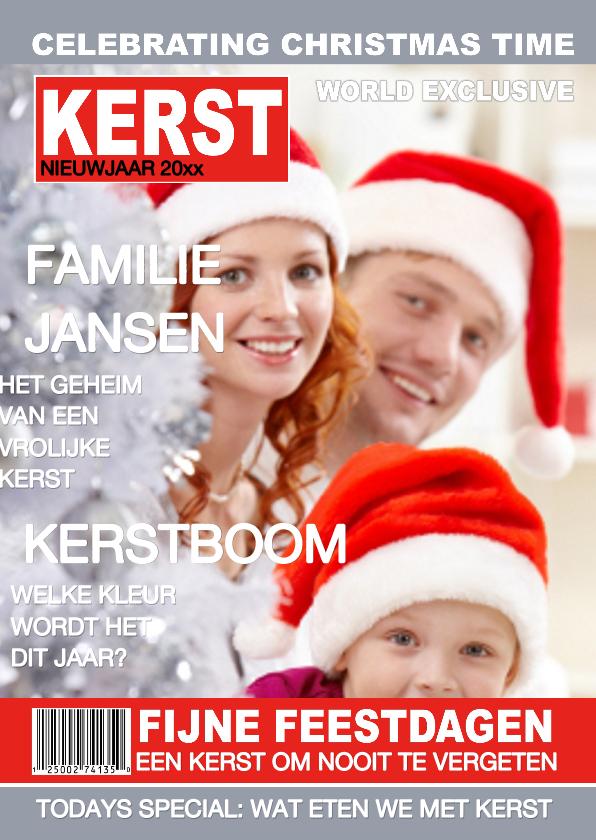 Kerstkaarten - Kerstkaart Tijdschrift Kerst