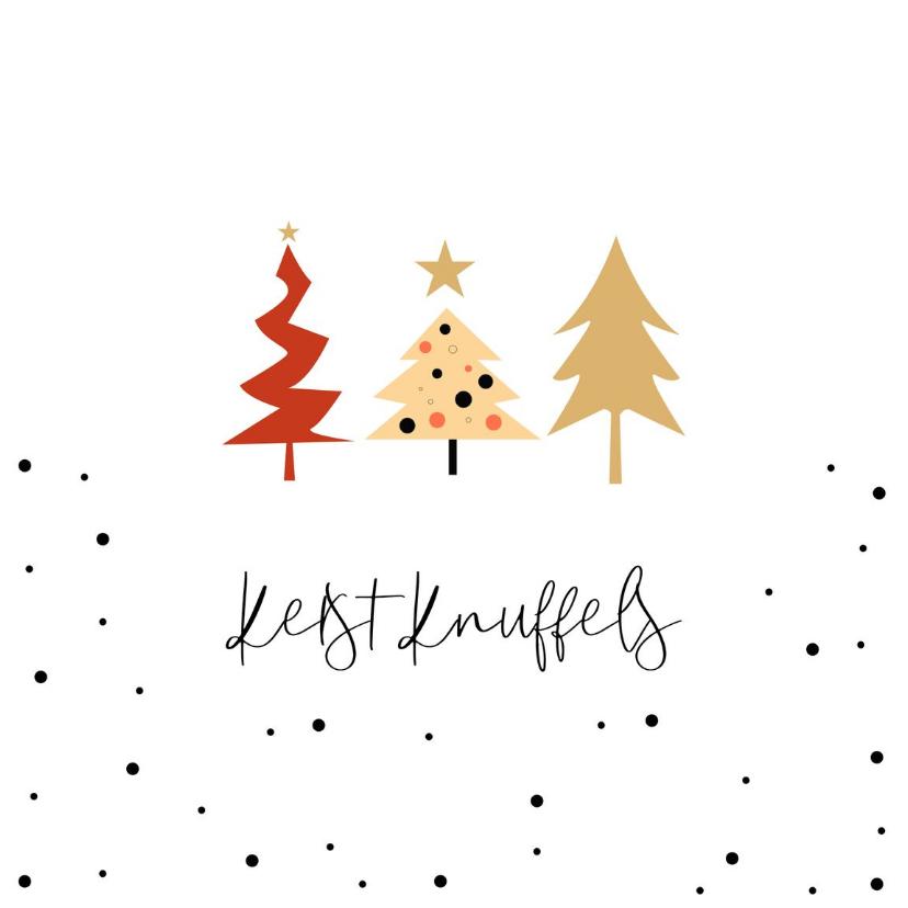 Kerstkaarten - Kerstknuffels