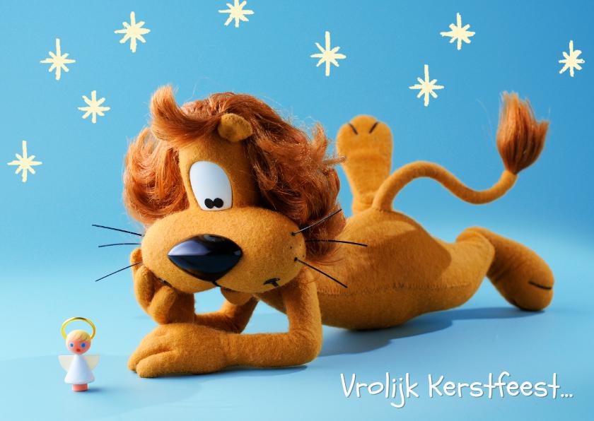 Kerstkaarten - Loeki de Leeuw kerstengel