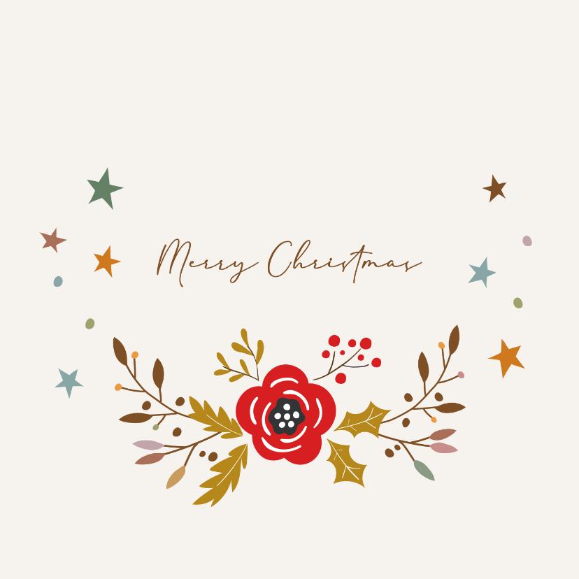 Kerstkaarten - Merry Christmas - love christmas - kerstkaart