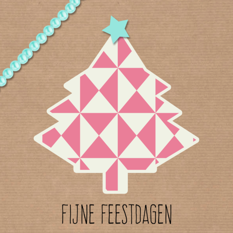 Kerstkaarten - Sweet Christmas Kerstboom  - DH