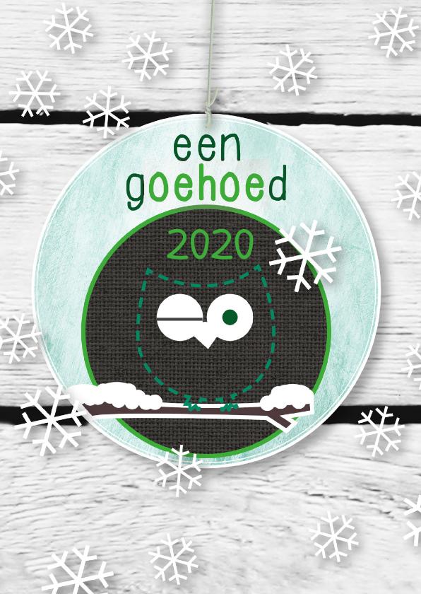 Kerstkaarten - Uil g-oehoe-d 2020