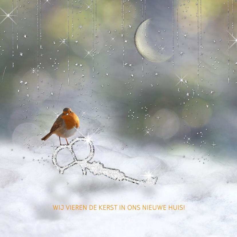 Kerstkaarten - Verhuiskaart, tevens kerstkaart