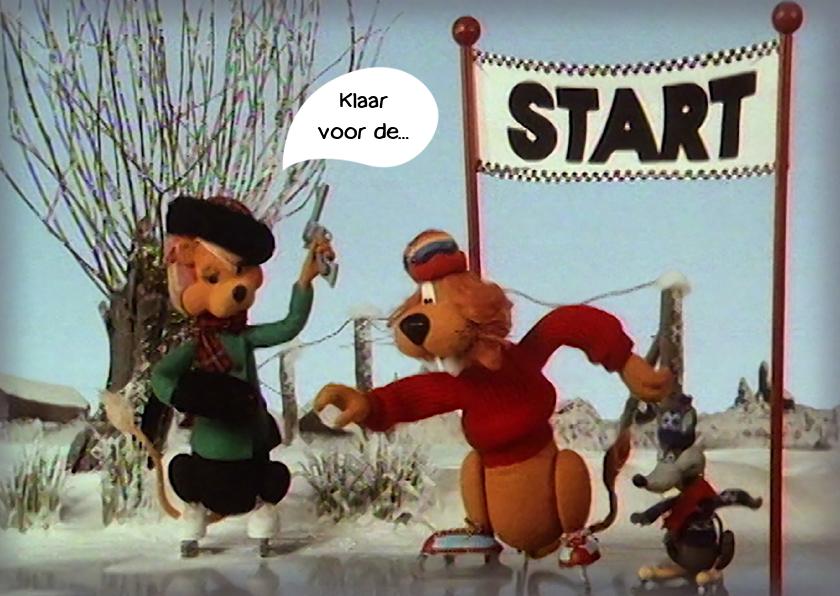 Kerstkaarten - Wenskaart Loeki wedstrijd