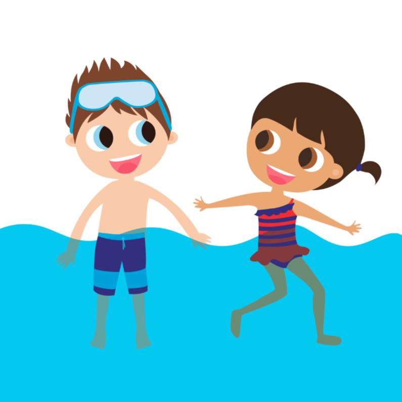 Kinderfeestjes - Alies Design zwemmen