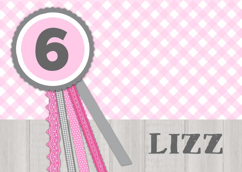 Kinderfeestjes - Bar creatief - Uitnodiging Lizz