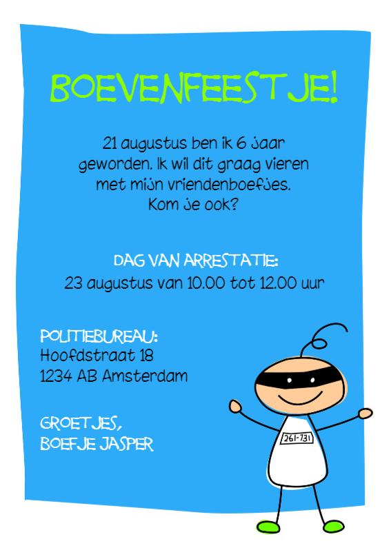 Kinderfeestjes - Boevenfeestje
