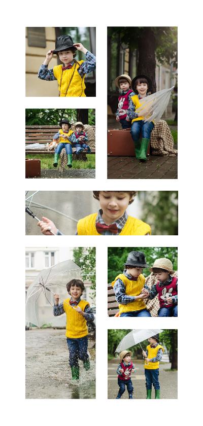 Kinderfeestjes - Collage Kinderfeestje met 7 foto's