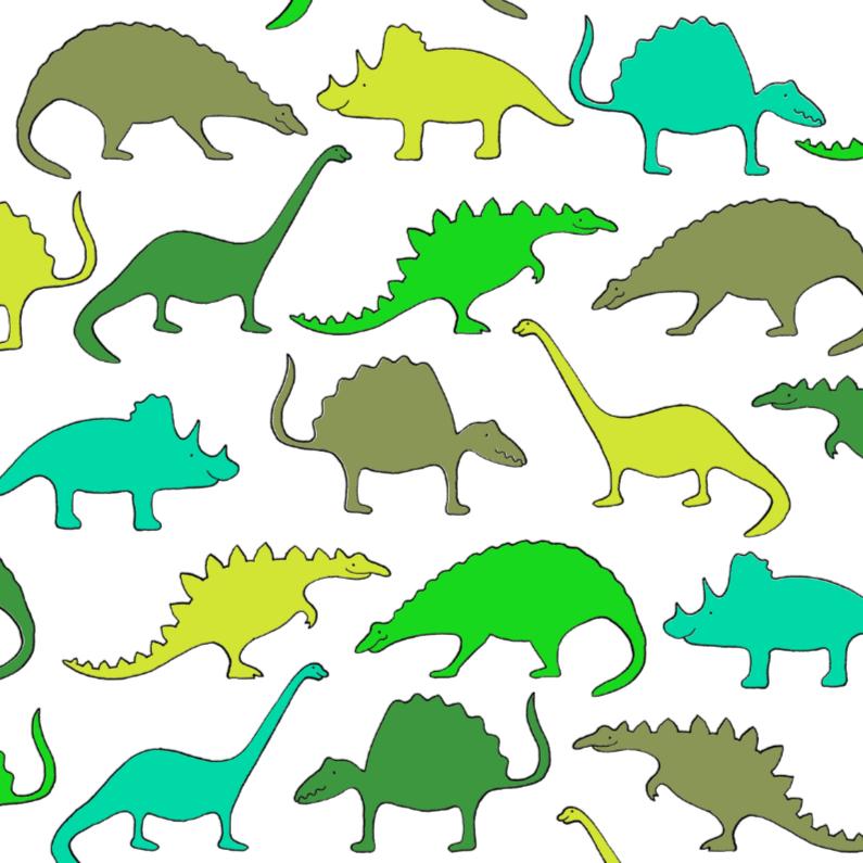 Kinderfeestjes - Dino's groen