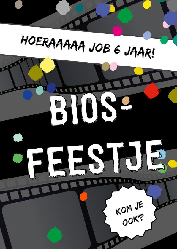 Kinderfeestjes - Feestje bioscoop confetti