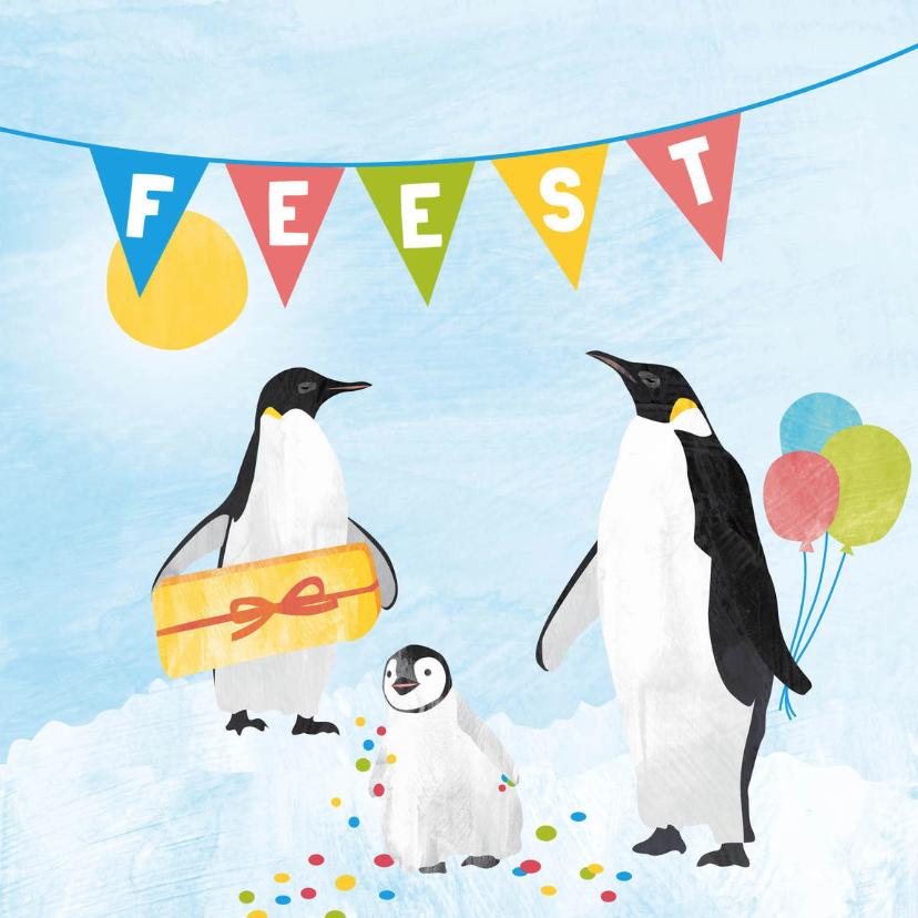 Kinderfeestjes - Feestje pinguins