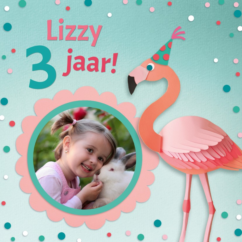 Kinderfeestjes - Flamingo feestje