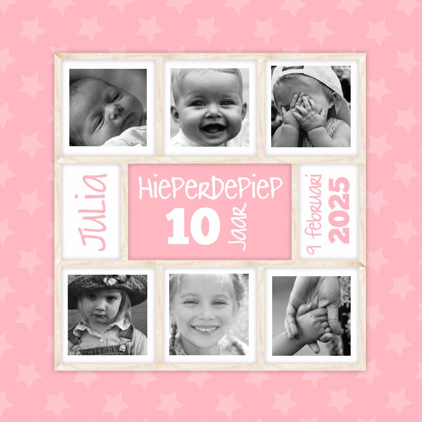 Kinderfeestjes - Hieperdepiep in roze-isf