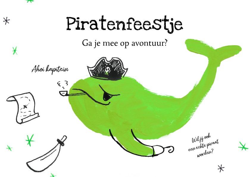 Kinderfeestjes - Ik geef een piratenfeestje - met illustratie