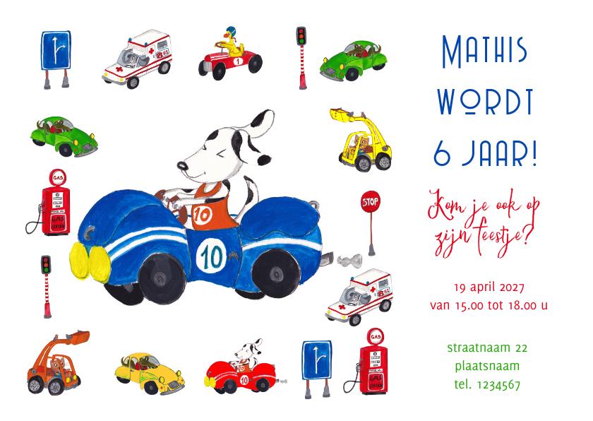 Kinderfeestjes - Jongens feestje autootjes