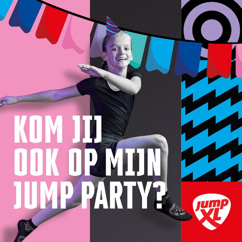 Kinderfeestjes - Jump XL kinderfeestje JumpParty Meisje