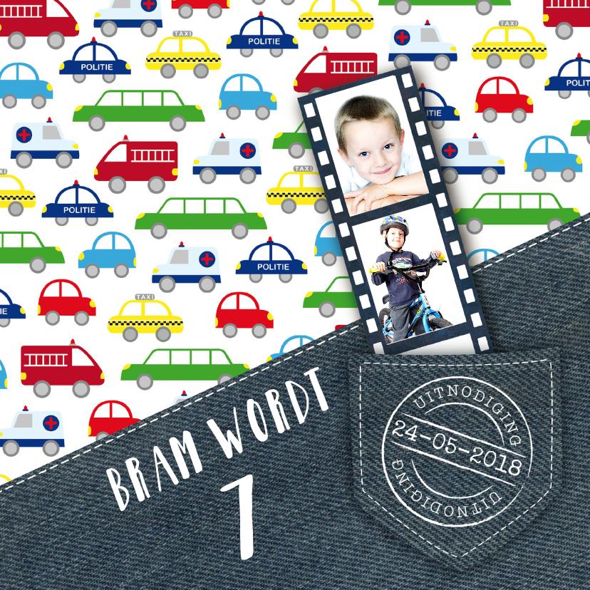 Kinderfeestjes - Kinderfeestje auto's jongen stoer