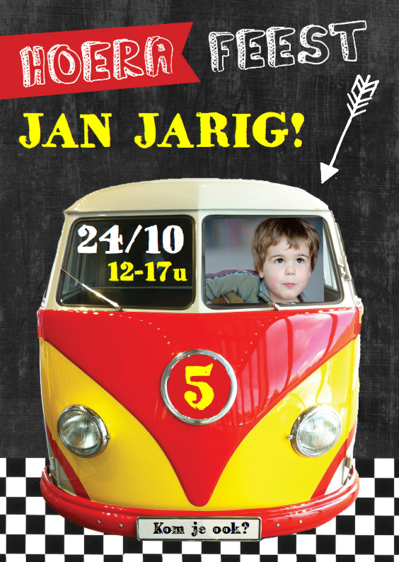 Kinderfeestjes - Kinderfeestje autobusje Jan