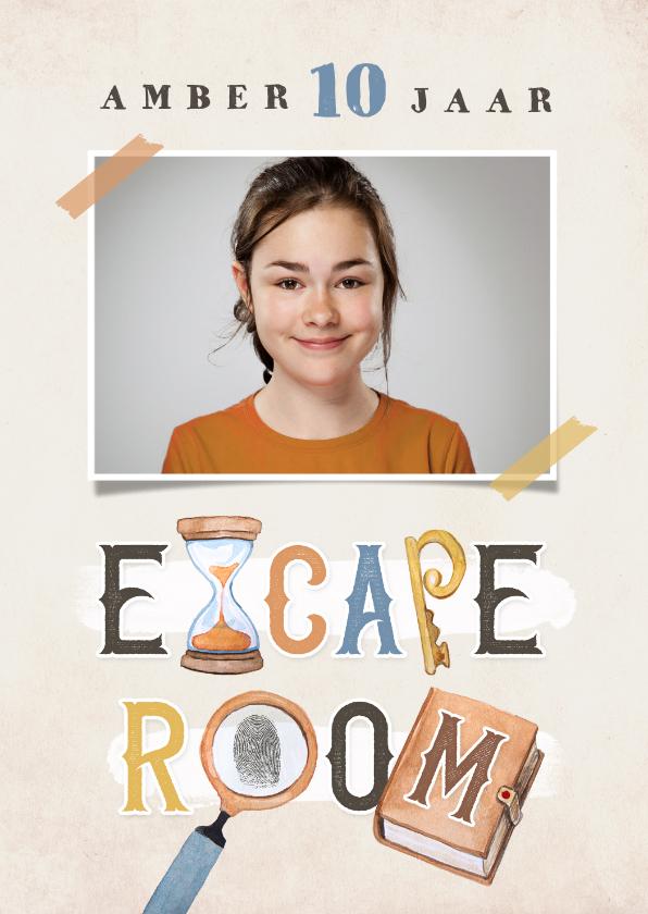 Kinderfeestjes - Kinderfeestje escape room jongen meisje detective