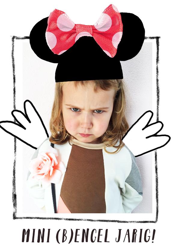 Kinderfeestjes - Kinderfeestje foto grappig Mini engel