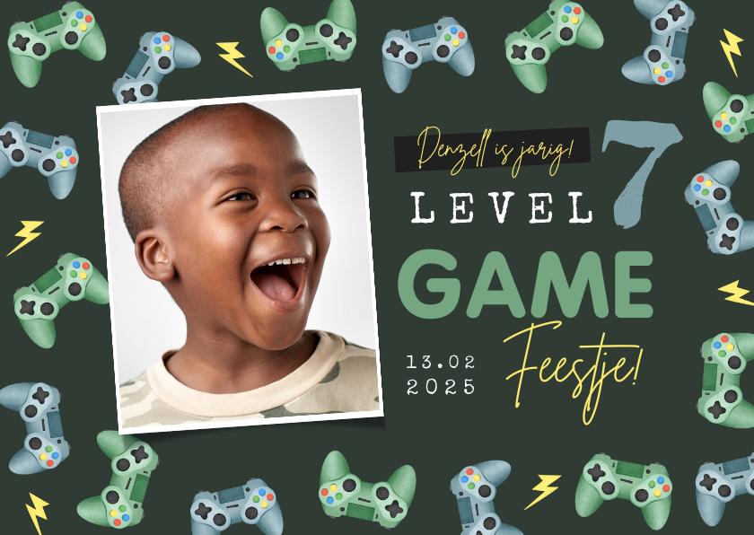 Kinderfeestjes - Kinderfeestje gamen controllers foto