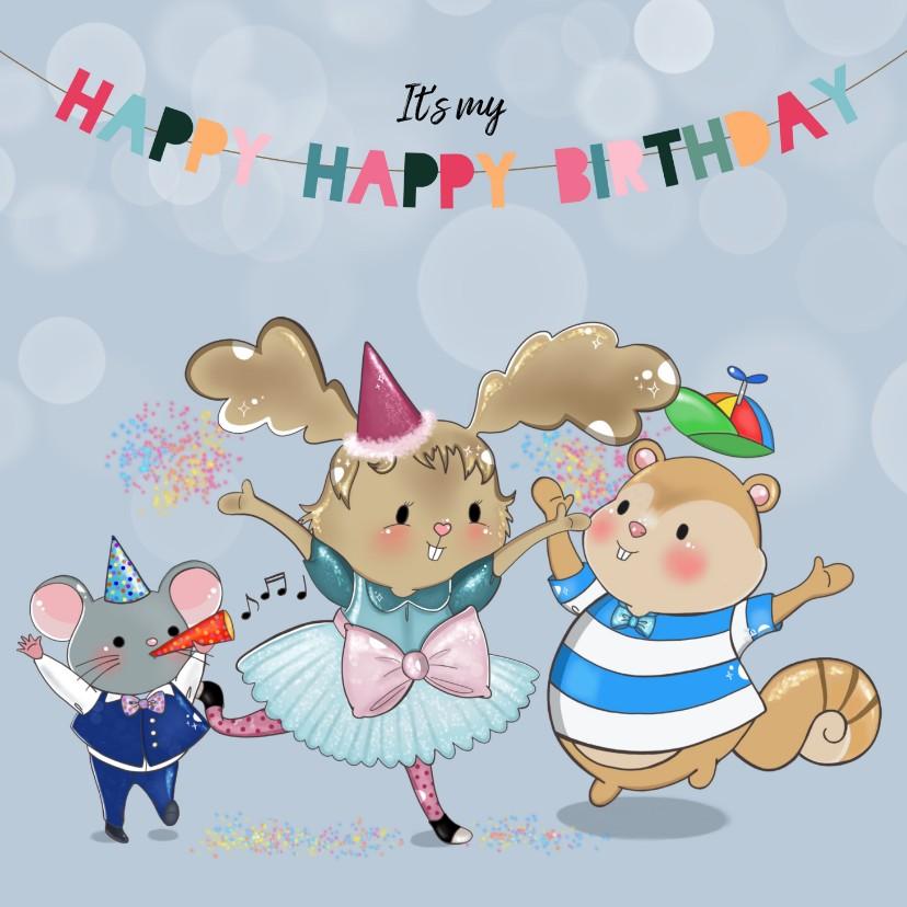 Kinderfeestjes - Kinderfeestje Maple and Chestnut Jarige Maple