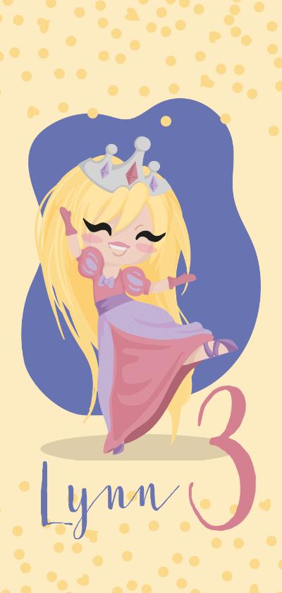 Kinderfeestjes - Kinderfeestje prinses met kroon
