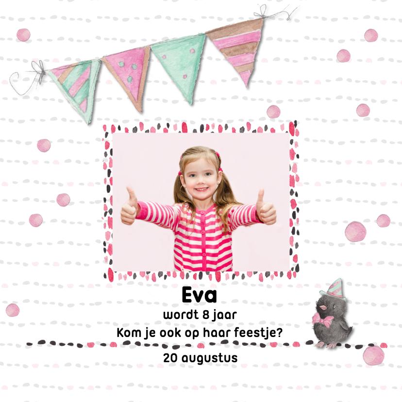 Kinderfeestjes - Kinderfeestje stippen en streepjes