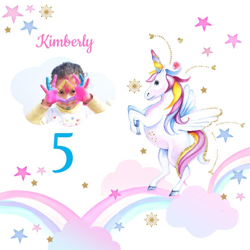 Kinderfeestjes - Kinderfeestje unicorn regenboogjes