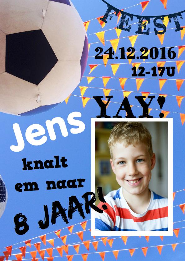 Kinderfeestjes - Kinderfeestje voetbal WK EK