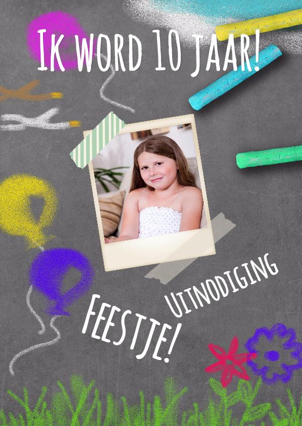 Kinderfeestjes - Krijtbordje feestje - BK