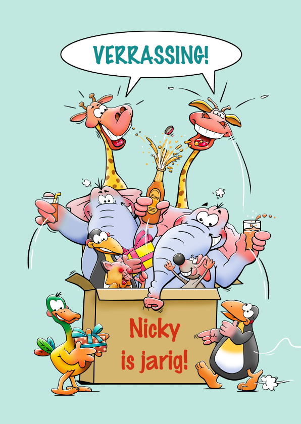 Kinderfeestjes - Leuke uitnodiging uitje naar de dierentuin