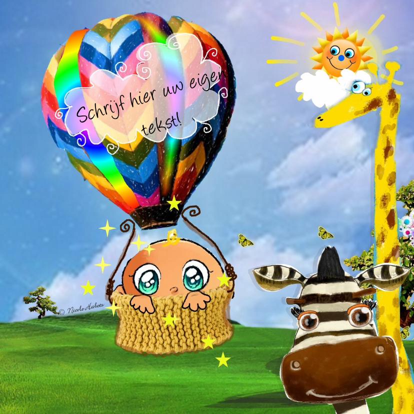 Kinderfeestjes - Luchtballon - NH