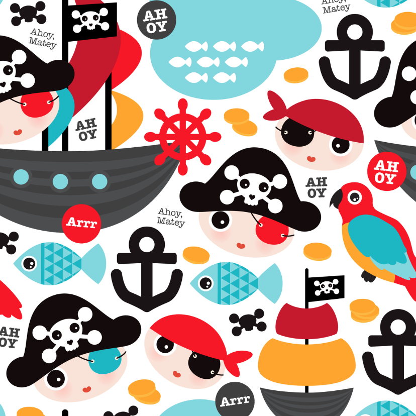Kinderfeestjes - Piraten boot jongen kinderfeest