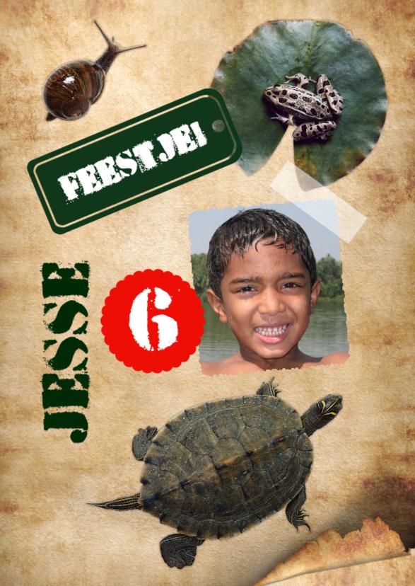 Kinderfeestjes - Reptielen kinderfeestje-isf