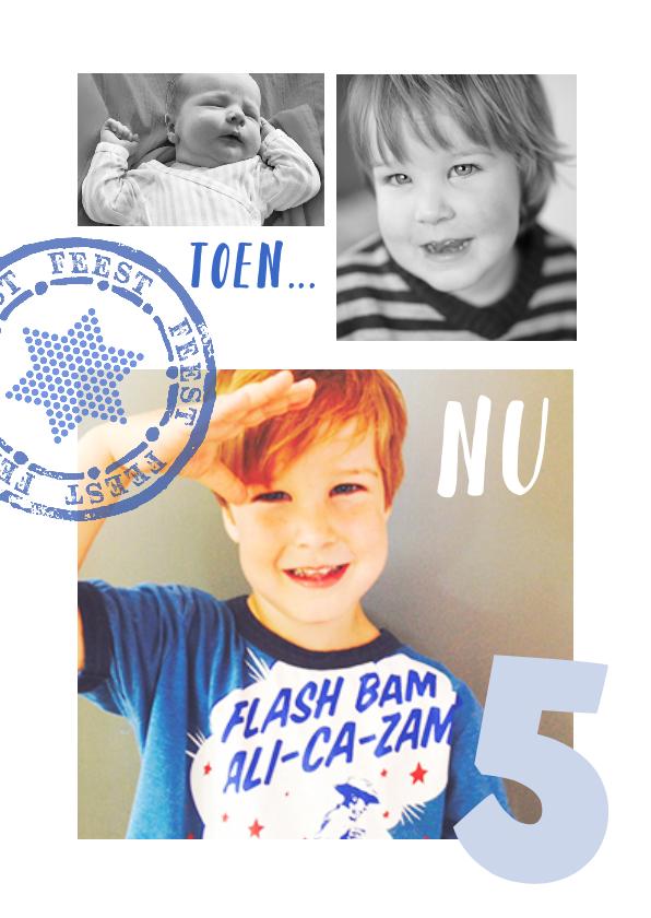 Kinderfeestjes - Kinderfeestje Collage toen  en nu jongen