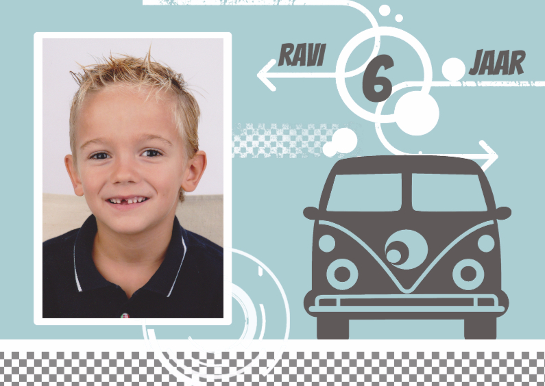Kinderfeestjes - Uitnodiging Ravi
