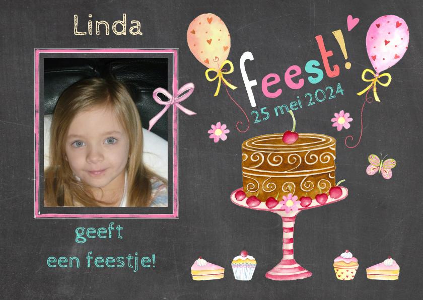 Kinderfeestjes - verjaardagsfeestje taartje