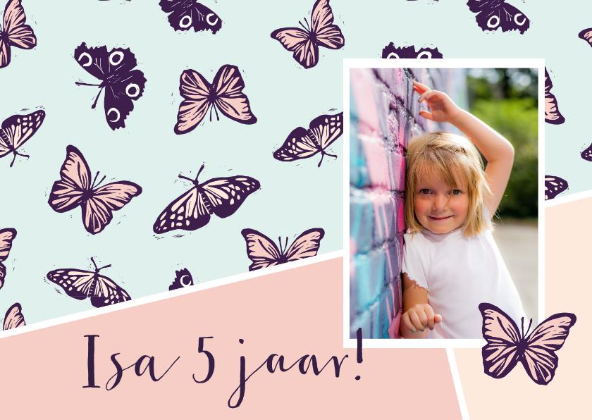 Kinderfeestjes - Verjaardagsfeestje vlinders in pastel