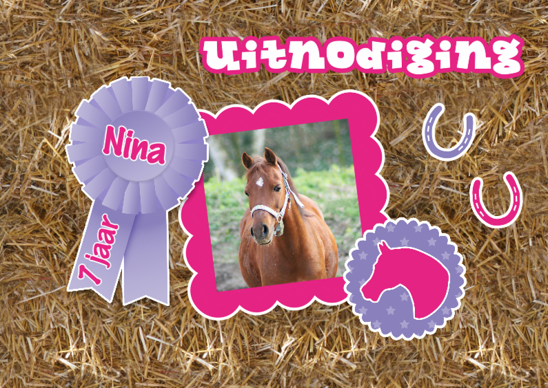 Kinderfeestjes - Vrolijk paardenfeestje