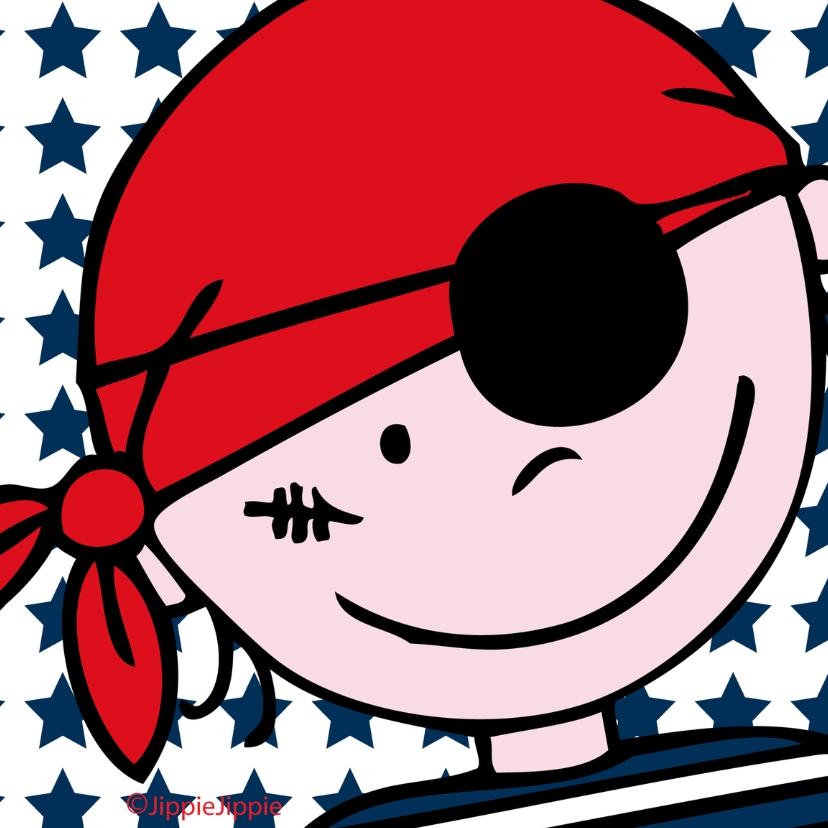 Kinderkaarten - JippieJippie piraat