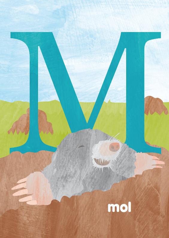 Kinderkaarten - M van mol