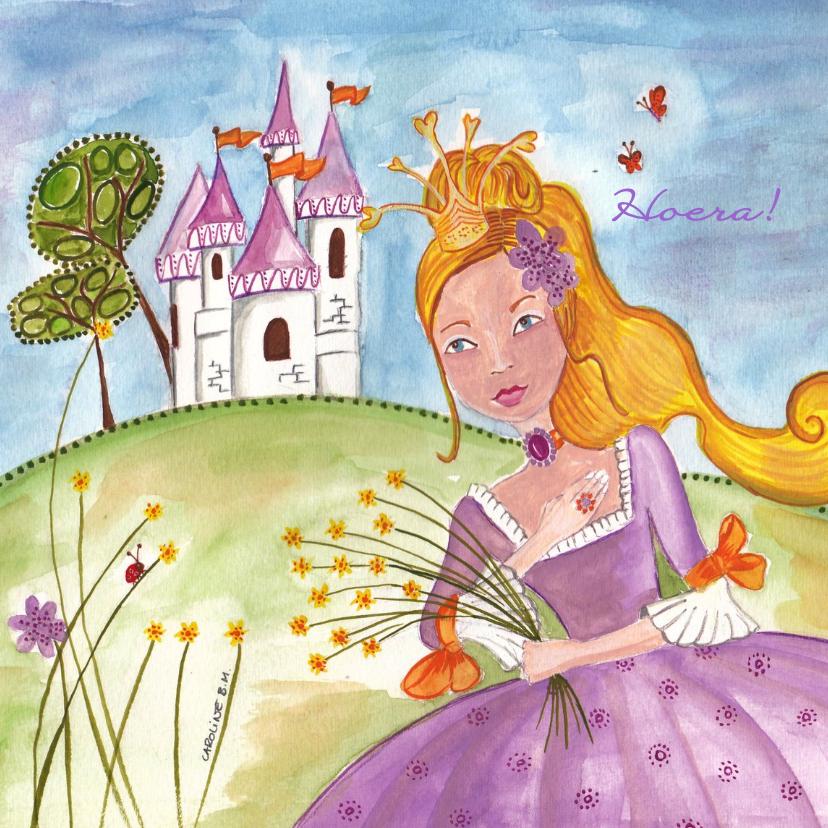 Kinderkaarten - Prinses en Kasteel by Cartita Design