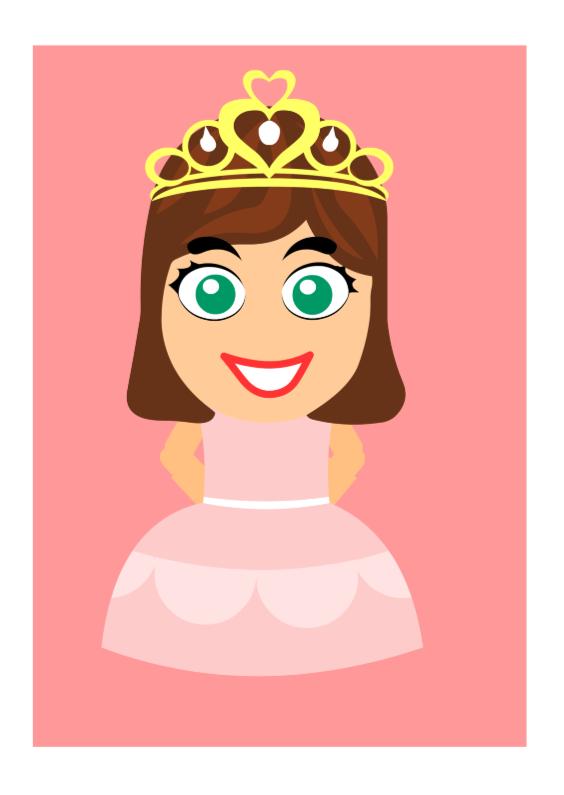 Kinderkaarten - Prinses Sprookjes Kaart